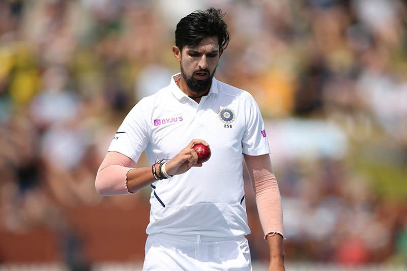 India's Ishant Sharma during the match. Photo: Reuters