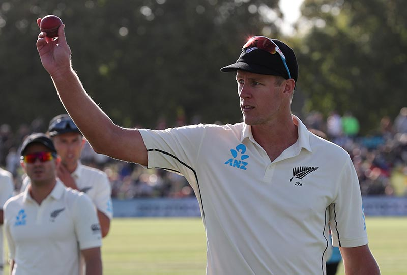 Jamieson has 5 wickets for NZ vs India, 1st day of 2nd test - The Himalayan Times - Nepal's No.1 English Daily Newspaper | Nepal News, Latest Politics, Business, World, Sports, Entertainment,