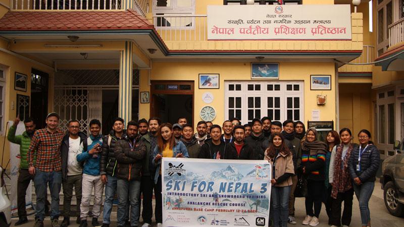Photo: Ski and Snowboarding Foundation Nepal