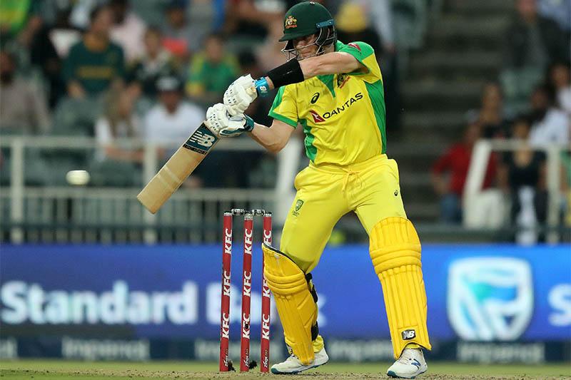 Australia's Steven Smith in action. Photo: Reuters