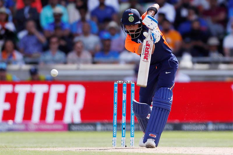 FILE PHOTO: India's Virat Kohli in action. Photo: Reuters