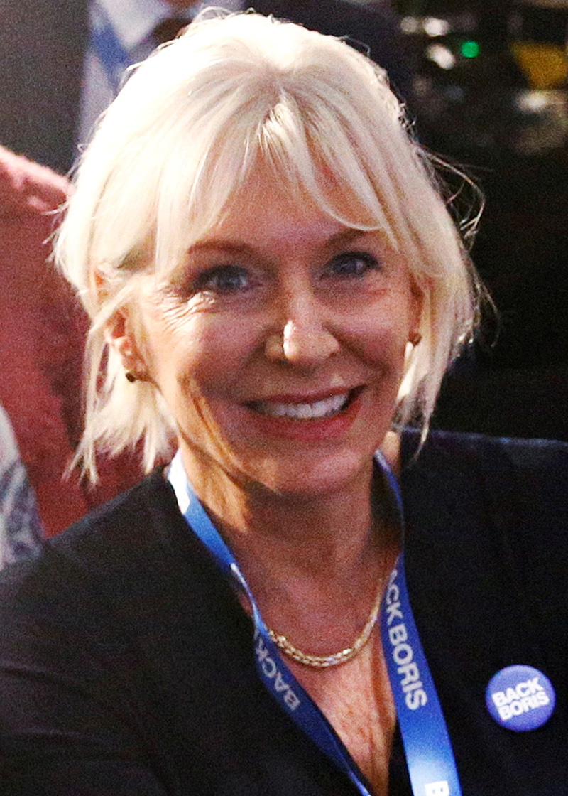 FILE - Britain's Conservative MP Nadine Dorries attends the launch of former British Foreign Secretary Boris Johnson's campaign for the Conservative Party leadership, in London, Britain, June 12, 2019. Photo: Reuters