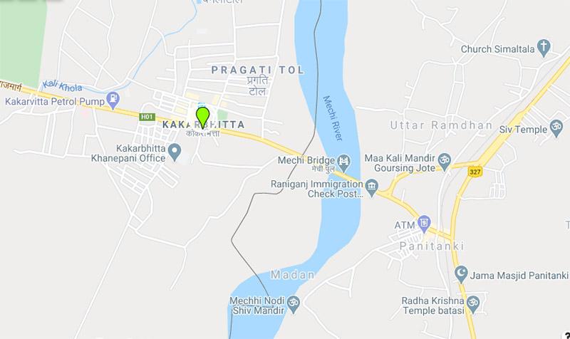 Kakarbhitta, Mechinagar, Jhapa. Image: Google Maps