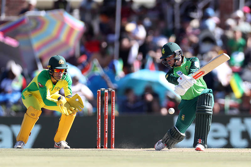 South Africa's Kyle Verreynne in action. Photo: Reuters