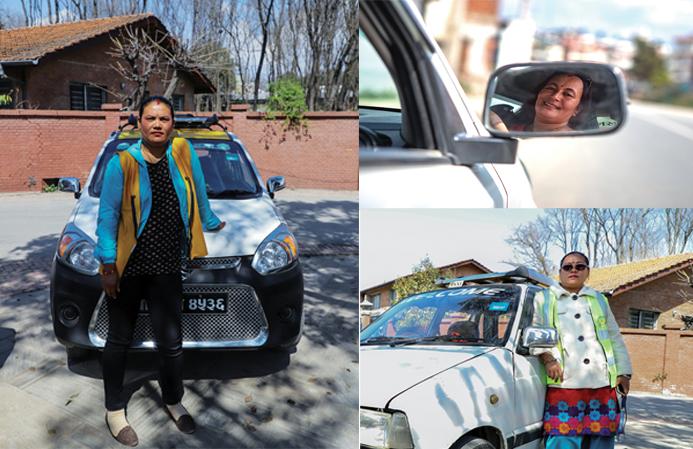 A combination image of Kanchhi Thapa, Nabina Khadka and Ishwori Thapa (clockwise). Photo: THT