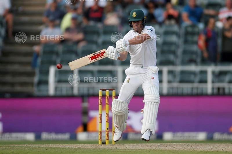 FILE PHOTO: South Africa's AB de Villiers in action. Photo: Reuters