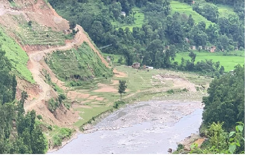 File - A view of Budhiganga River in Bajura district, in August 2019. Photo courtesy: Dhruba Hamal