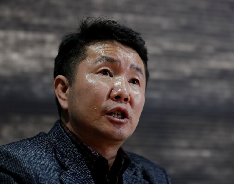 In this April 2, 2020, photo, Choi Jung Hun, a former North Korean doctor who came to South Korea in 2012, speaks during an interview with The Associated Press in Seoul, South Korea. North Korea says it has zero coronavirus infections, but experts doubt it and say itu2019s likely the virus has already spread in the country. Choi and other defectors told that workers didnu2019t have test kits when they dealt with past outbreaks and werenu2019t even asked to confirm or submit cases to the central government. Photo: AP