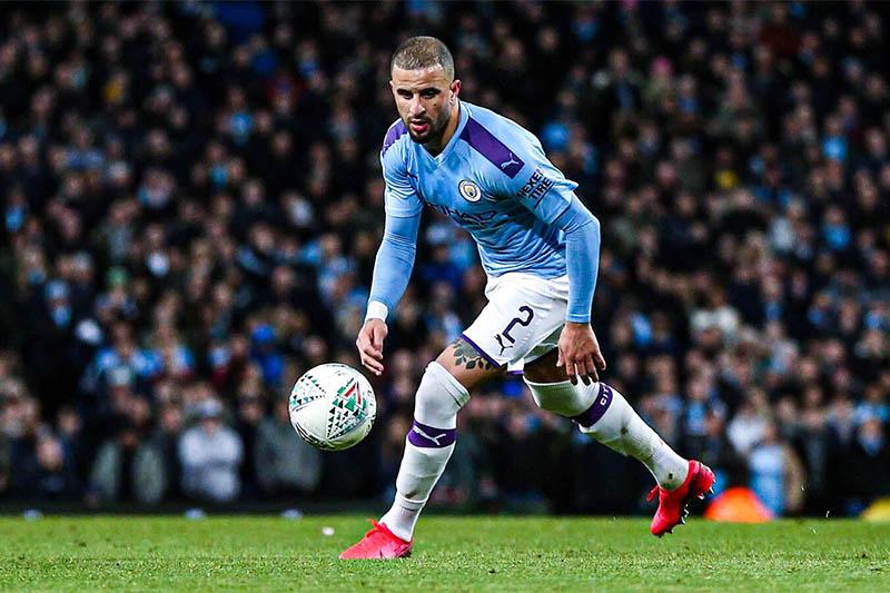 FILE: Manchester City defender Kyle Walker in action. Photo: Kyle/Twitter