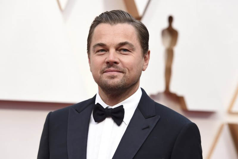 FILE - In this Feb. 9, 2020, file photo, Leonardo DiCaprio arrives at the Oscars in Los Angeles. DiCaprio is helping to launch the $12 million Americau2019s Food Fund aimed at helping low-income families, the elderly and those whose jobs have been disrupted by the coronavirus pandemic. Photo: AP