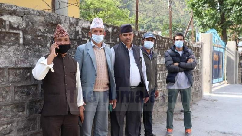 Local representatives from Bajhang and Baitadi districts. Photo: Tekendra Deuba/THT