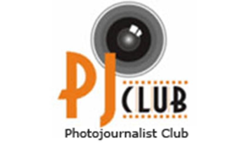 A logo of Photojournalists Club.