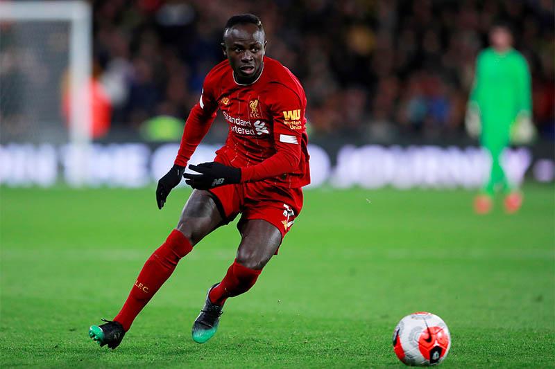 FILE PHOTO: Liverpool's Sadio Mane in action. Photo: Reuters
