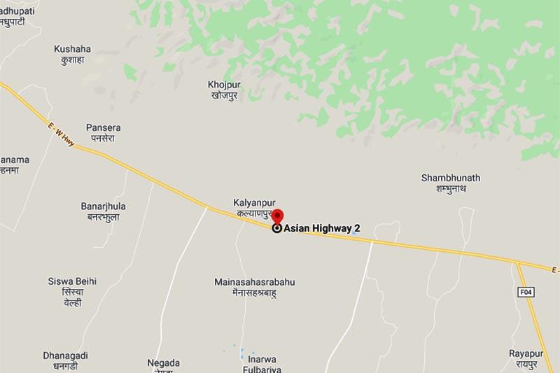 This map shows Chakwa Chowk, in Khadak Municipality, Saptari district. Image: Google Maps