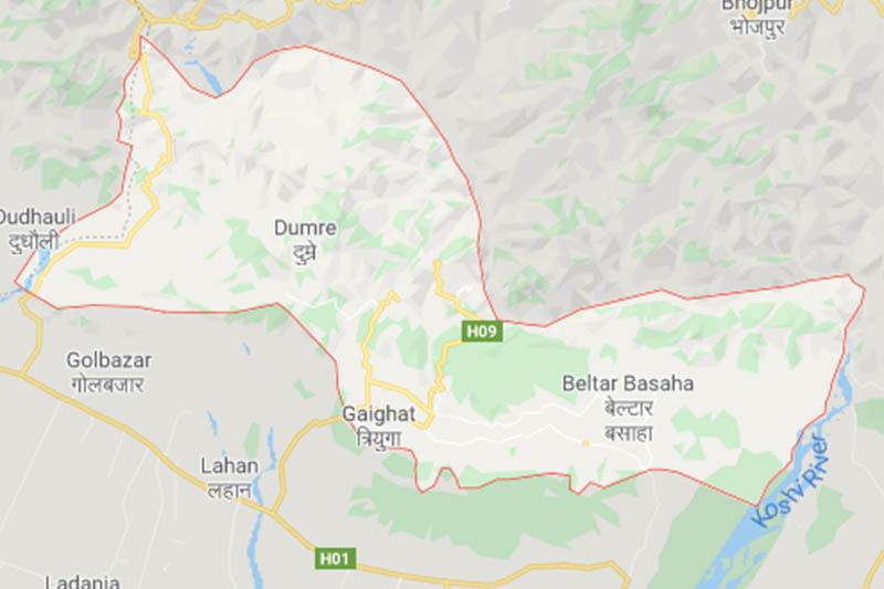 Udayapur district. Image: Google Maps