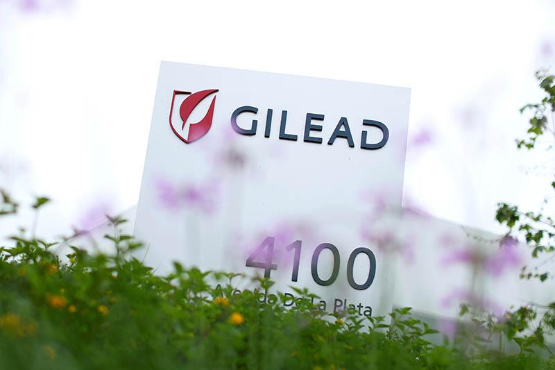 FILE PHOTO: Gilead Sciences Inc in Oceanside, California, US, April 29, 2020. Photo: Reuters