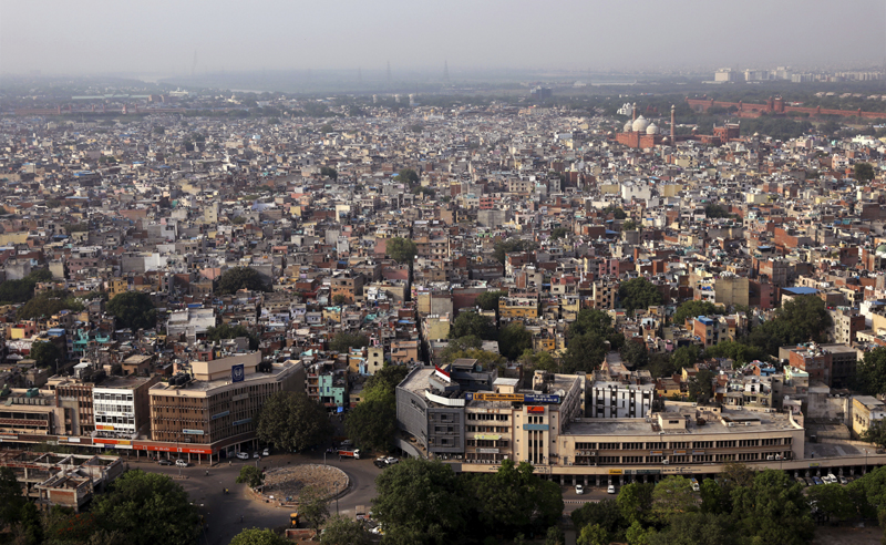 The old quarters of the city is seen during a nationwide lockdown to control the spread of coronavirus, in New Delhi, India, Friday, May 1, 2020. Photo: AP/File