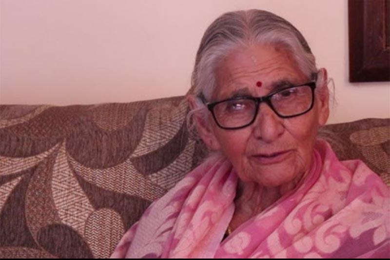 This undated image shows first female singer of Radio Nepal, Ranu Devi Adhikari. Photo coourtesy: Sumit Khadka