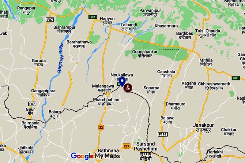 Sarlahi, border clash, APF, Nepal