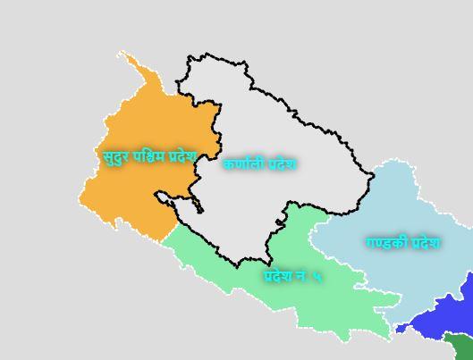 Karnali Province. Courtesy: MoFAGA
