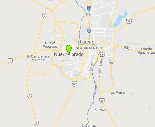 Nuevo Laredo. Photo: Google Maps