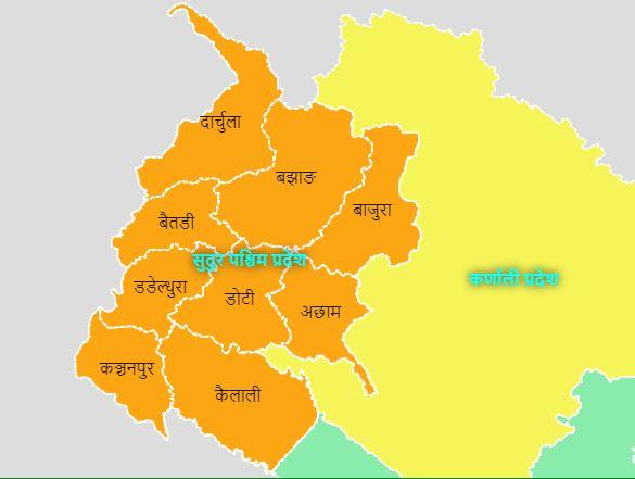 Sudurpaschim Province. Courtesy: MoFAGA