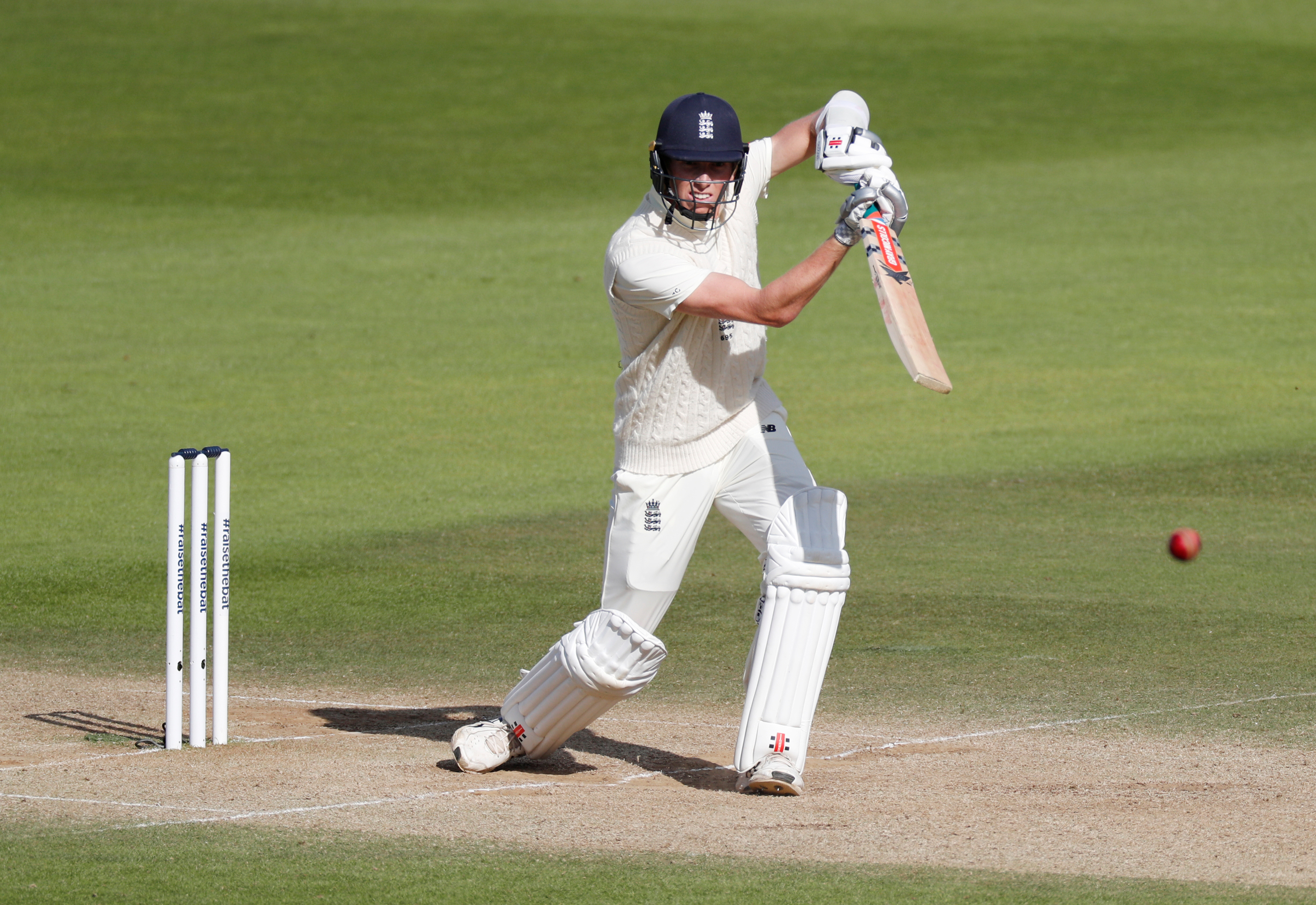 England's Zak Crawley in action. Photo: Reuters