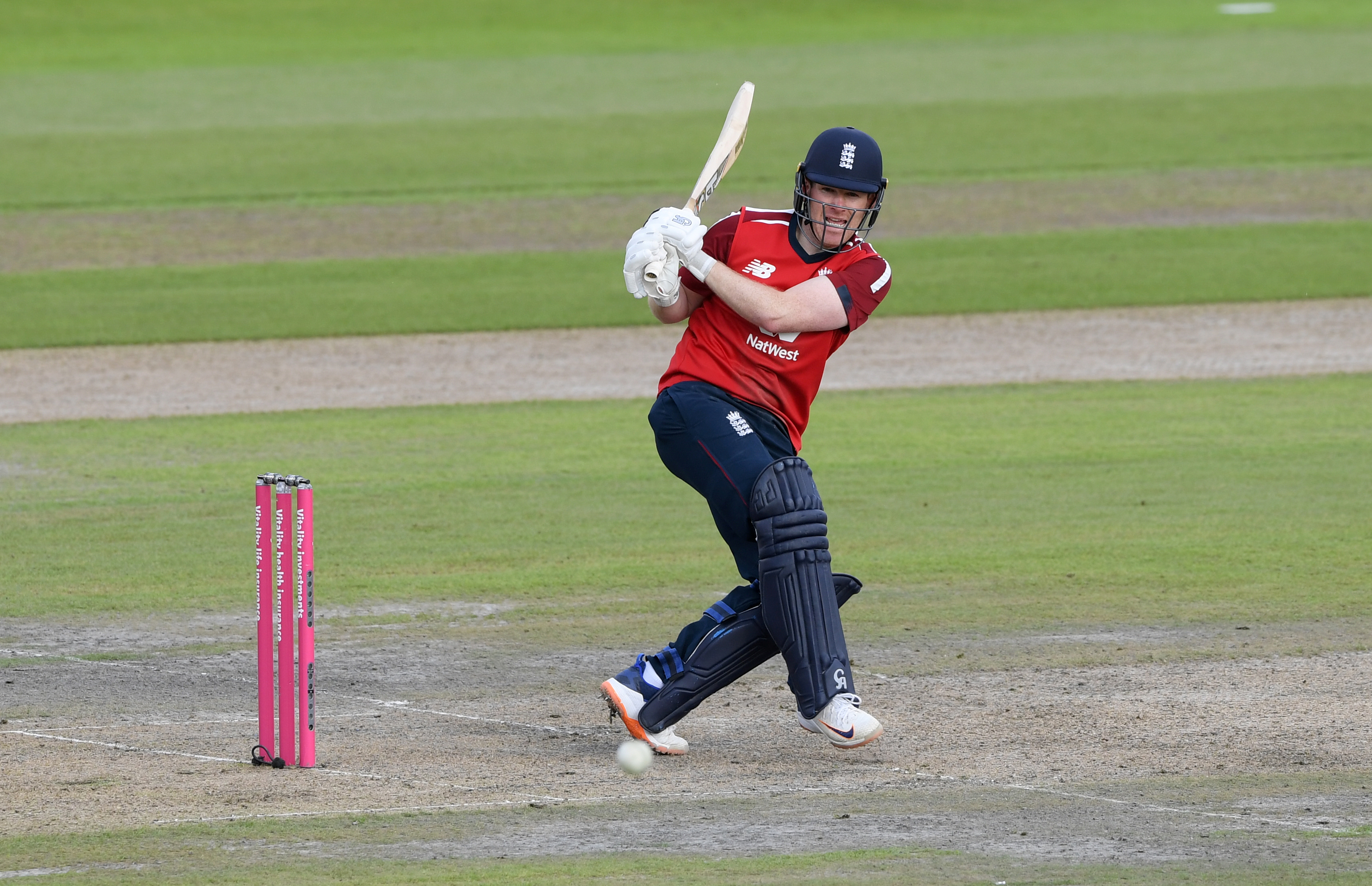 England's Eoin Morgan in action. Photo: Reuters