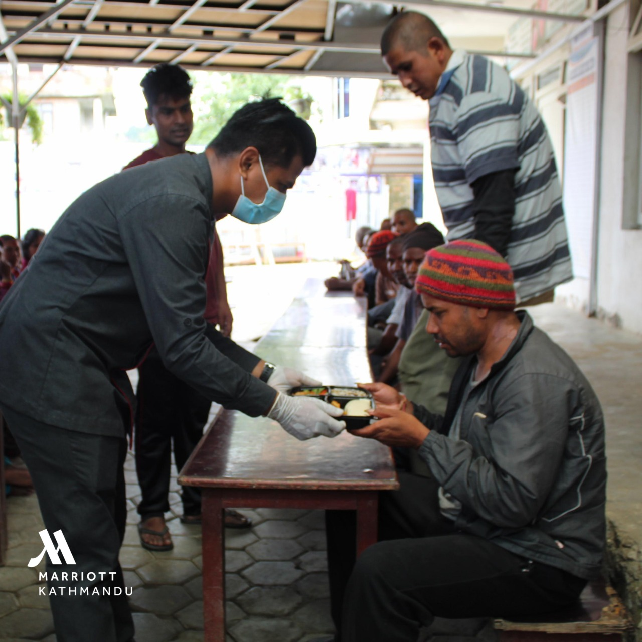 Embassy of Israel in Nepal in cooperation with Kathmandu Marriott Hotel delivers food to Manav Kalyan Samaj. Photo Courtesy: Embassy of Israel in Nepal