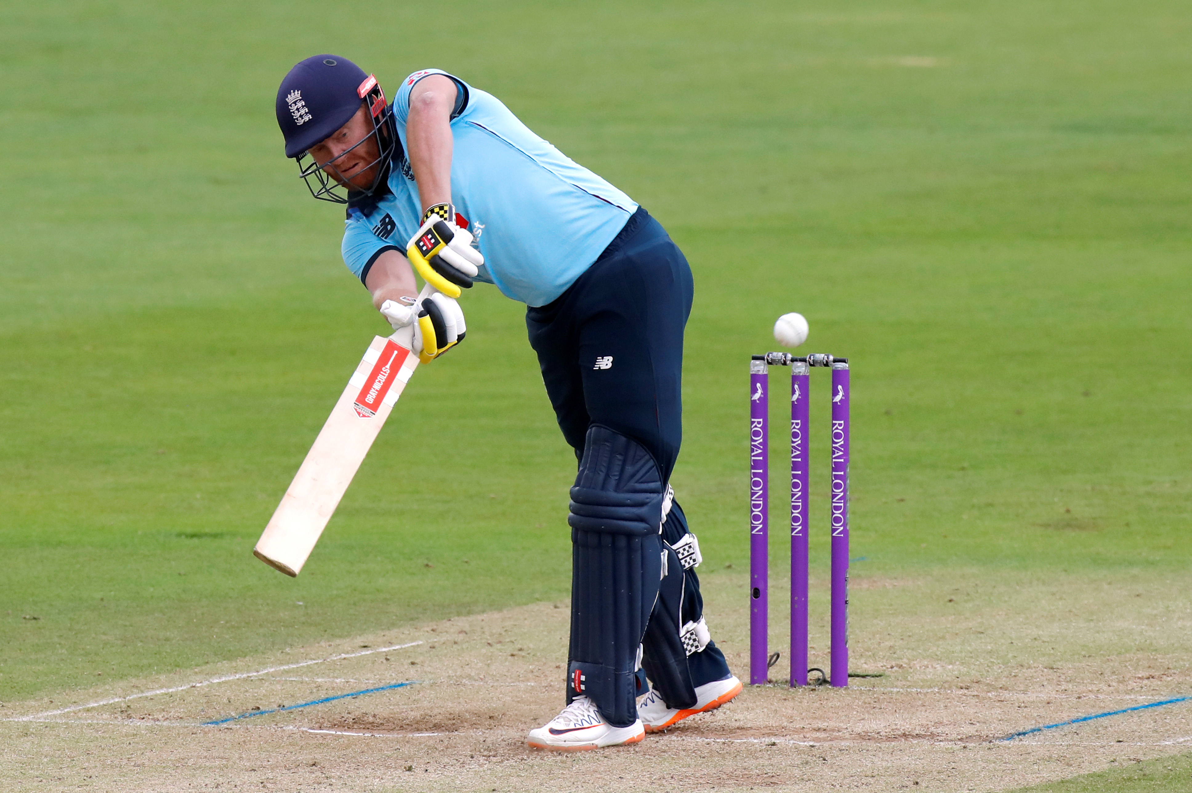 England's Jonny Bairstow in action. Photo: Reuters