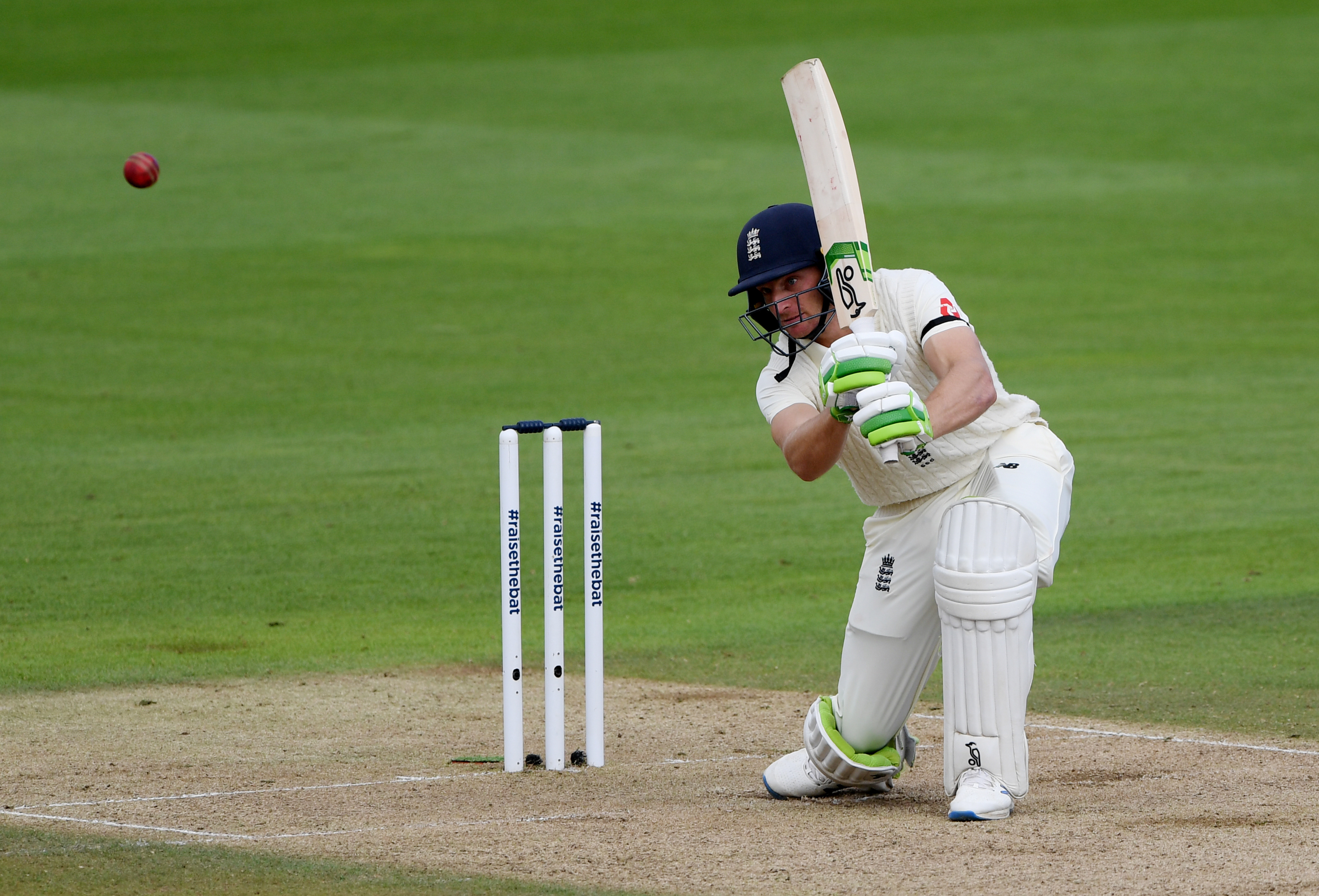 England's Jos Buttler in action. Photo: Reuters