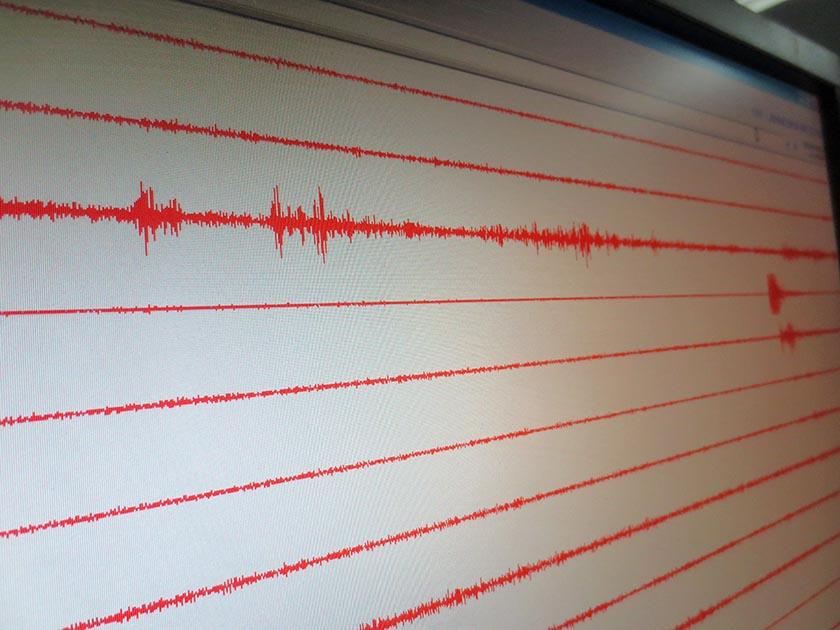 Earthquake analysis at the National Seismological Centre in Kathmandu in April 2016. Photo: Keshav P. Koirala