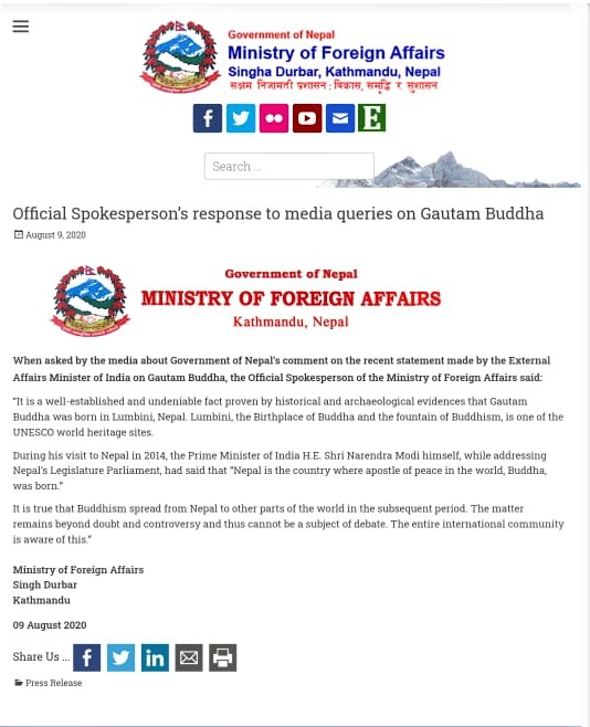 MoFA press release.