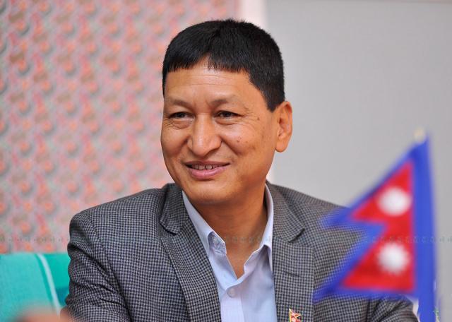 KMC Mayor Bidya Sundar Shakya. Photo: KMC Office