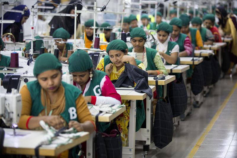 In this April 19, 2018 file photo, trainees work at Snowtex garment factory in Dhamrai, near Dhaka, Bangladesh. Photo: AP/File
