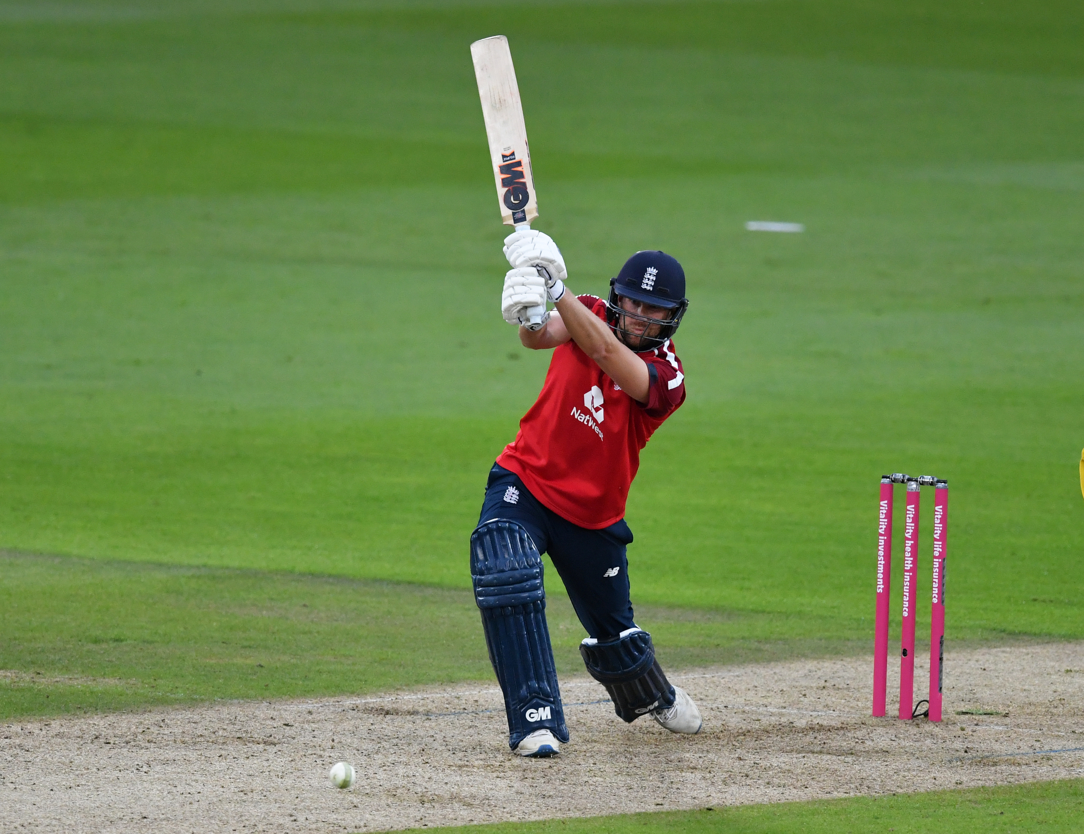 England's Dawid Malan in action. Photo: Reuters