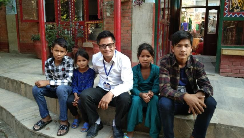 The abandoned children of Budhiganga Municiplaity-6 has been brought to Kathmandu.