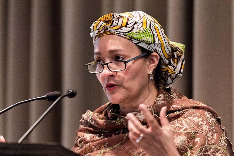This undated image shows Deputy Secretary-General of the United Nations, Amina J Mohammed. Photo courtesy: SHF