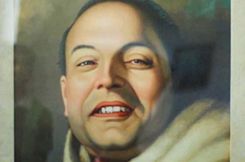 This undated image shows the portrait of Mahakavi (Great Poet) Laxmi Prasad Devkota. Photo: THT