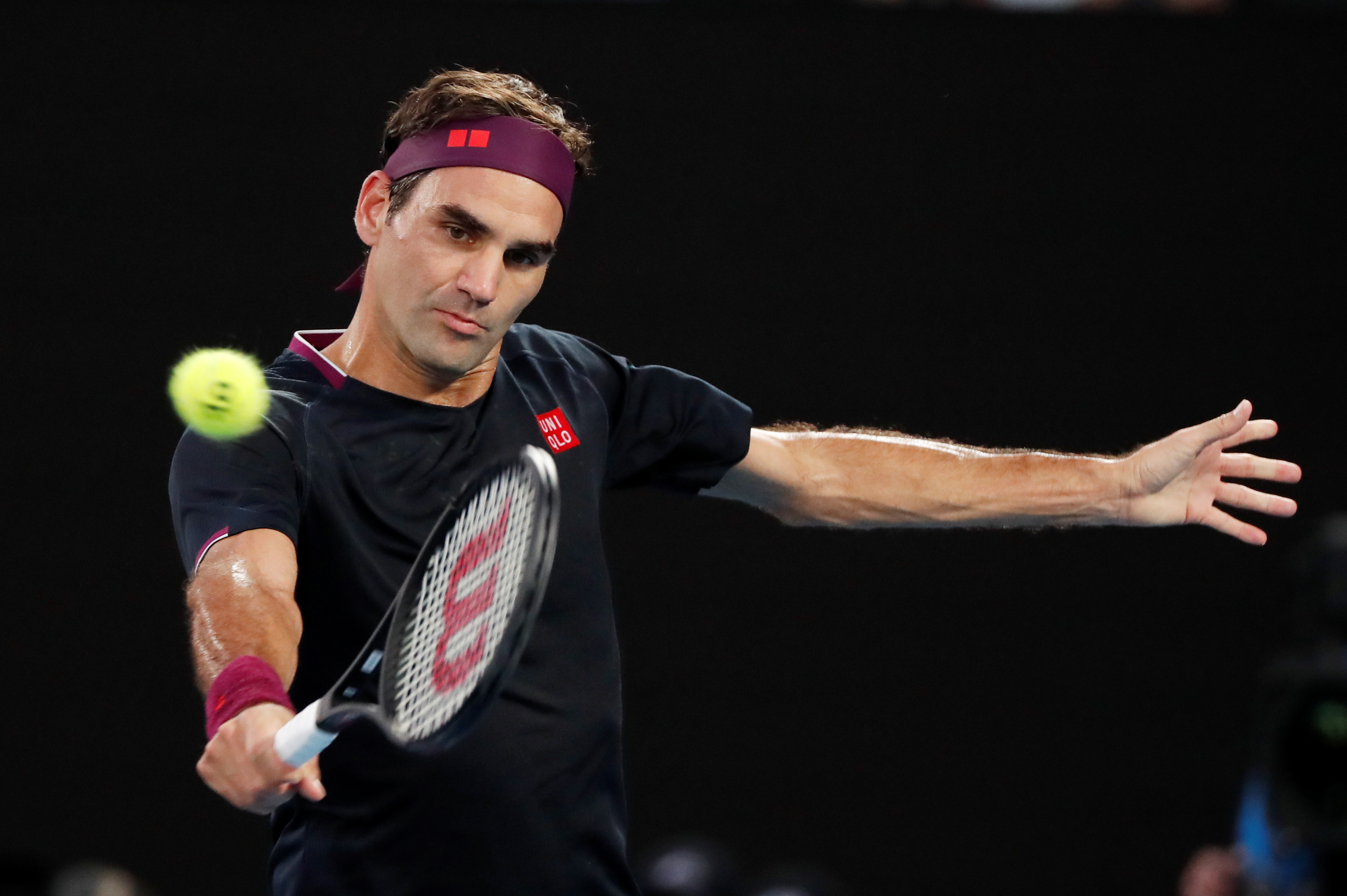 FILE: Switzerland's Roger Federer in action. Photo: Reuters