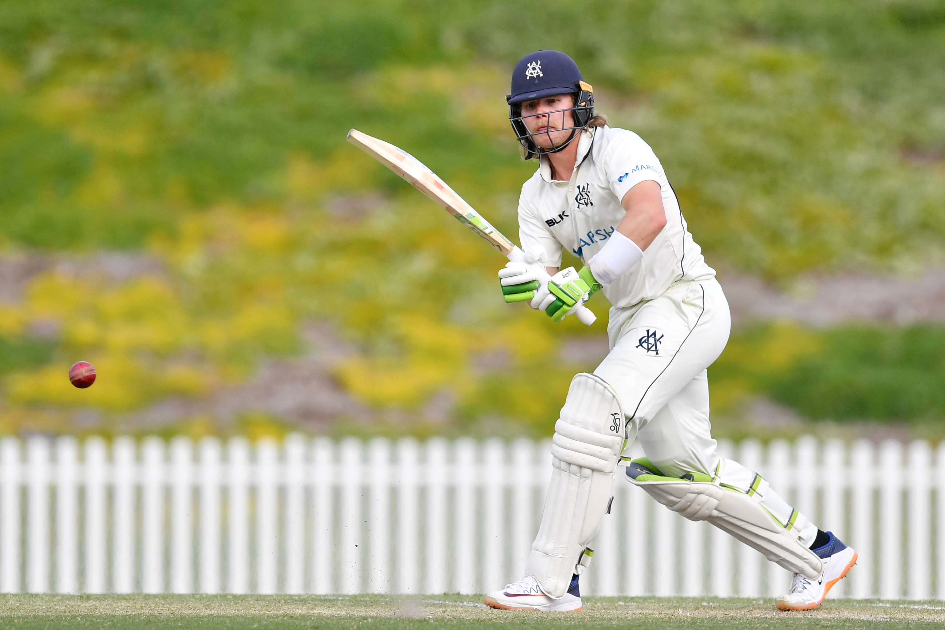 Will Pucovski of Victoria bats during day 3 of the Round 4 Marsh Sheffield Shield cricket match between the Victoria Bushrangers and the Western Australia Western Warriors at Karen Rolton Oval in Adelaide, November 10, 2020. totaken November 10, 2020. Photo: Reuters