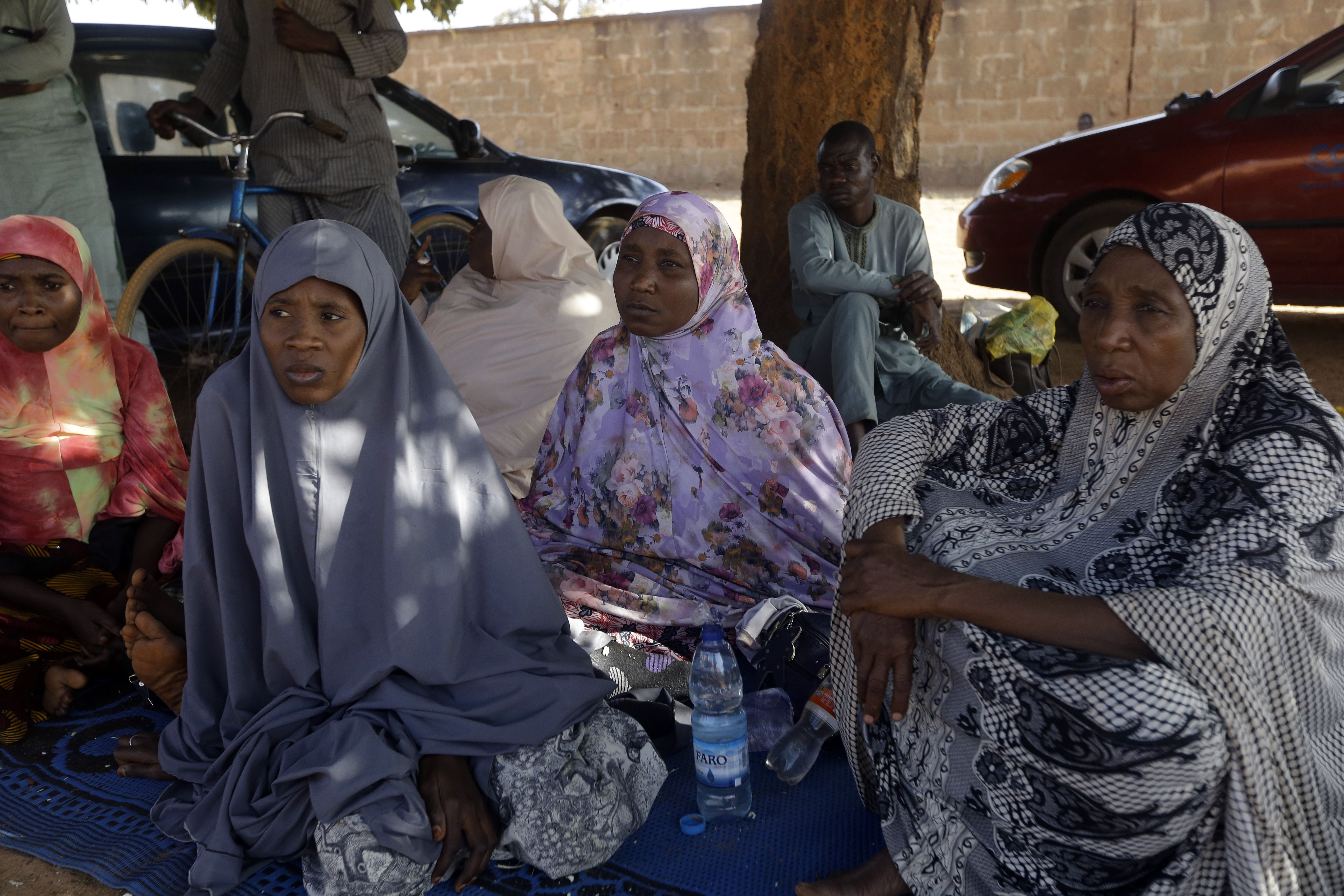 Parents of the missing Government Science secondary school students wait for news on their children in Kankara , Nigeria, Tuesday, Dec. 15, 2020. Rebels from the Boko Haram extremist group claimed responsibility Tuesday for abducting hundreds of boys from a school in Nigeria's northern Katsina State last week in one of the largest such attacks in years, raising fears of a growing wave of violence in the region. Photo: AP
