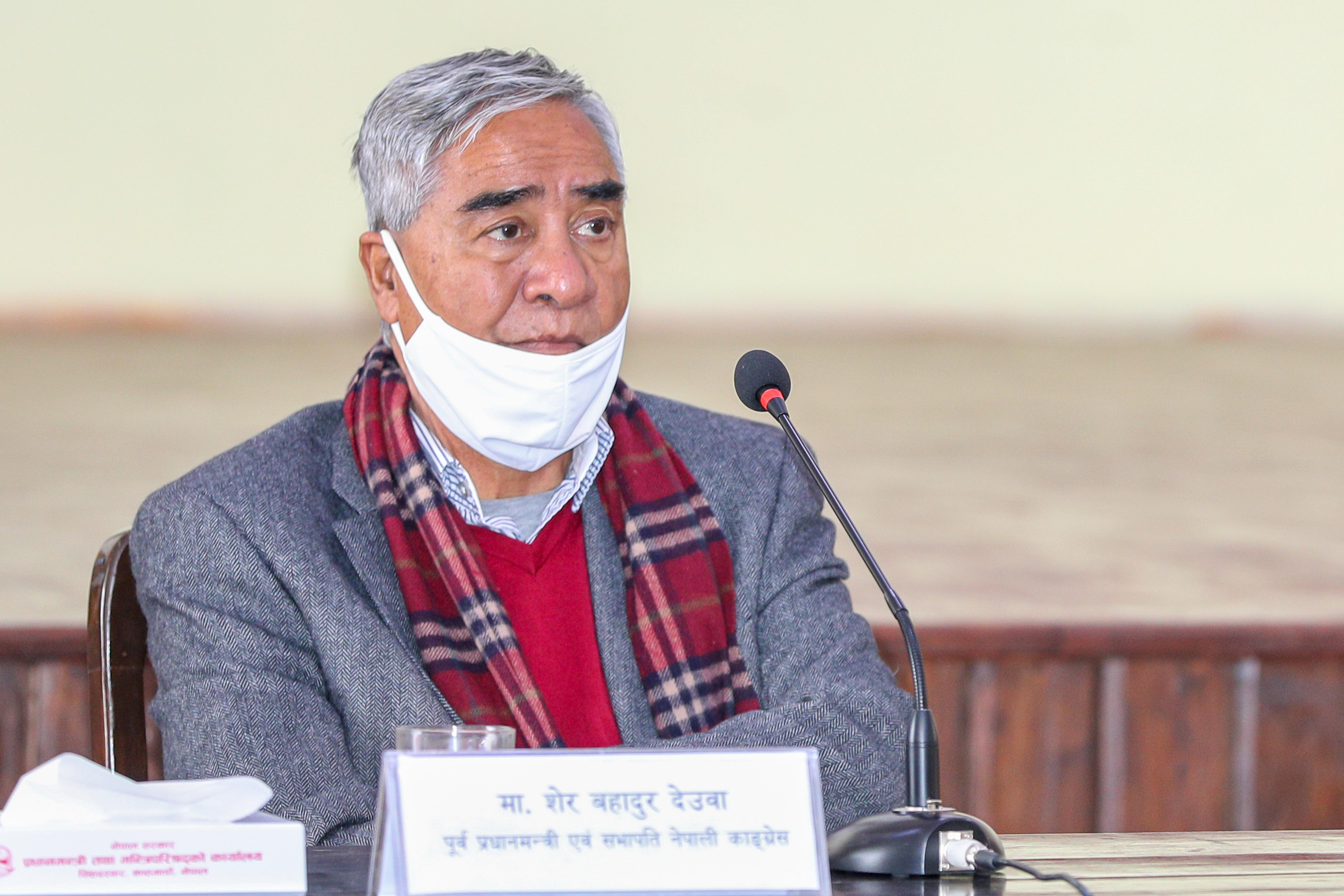 Photo Courtesy: Rajan Kafle/Prime Minister's Secretariat