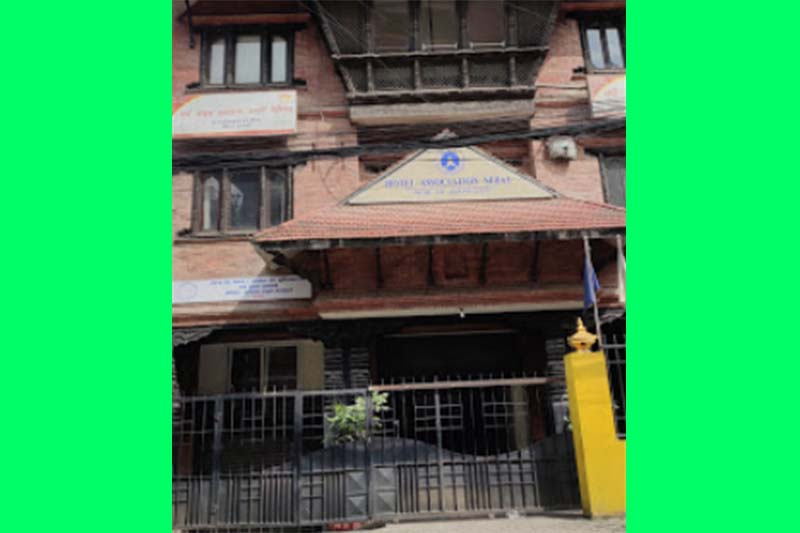 This image shows the building of Hotel Association Nepal (HAN) in Kathmandu in September 2020. Photo courtesy: Rabin B