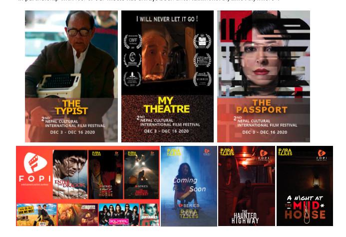 Nepal Cultural International Film Festival. Photo: Courtesy: FOPI