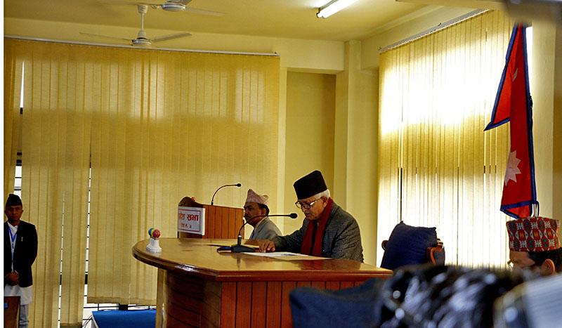 CM Dormani Paudel Bagmati Province