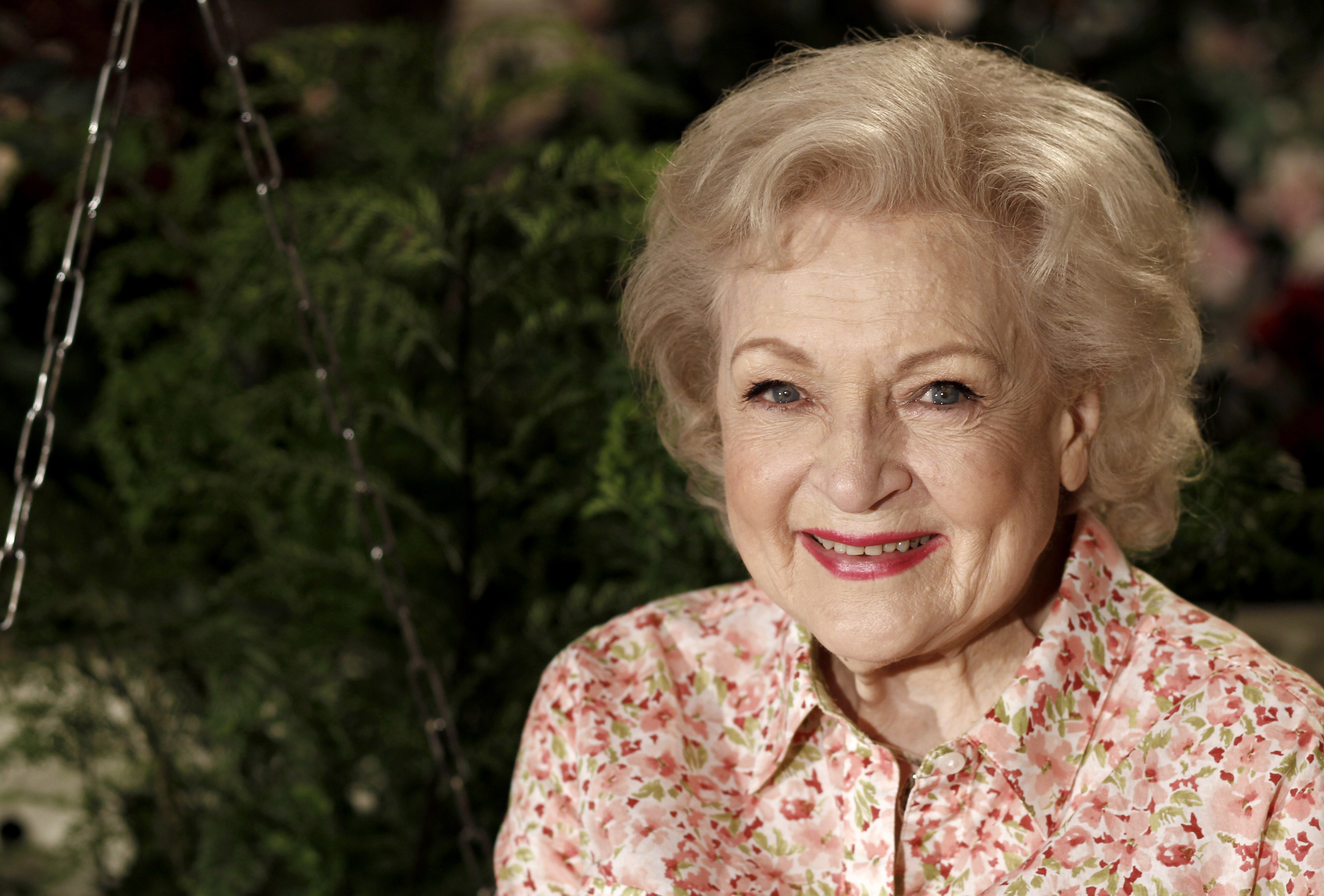 FILE - Actress Betty White poses for a portrait in Los Angeles on June 9, 2010. White will turn 99 on Sunday, Jan. 17. Photo: AP