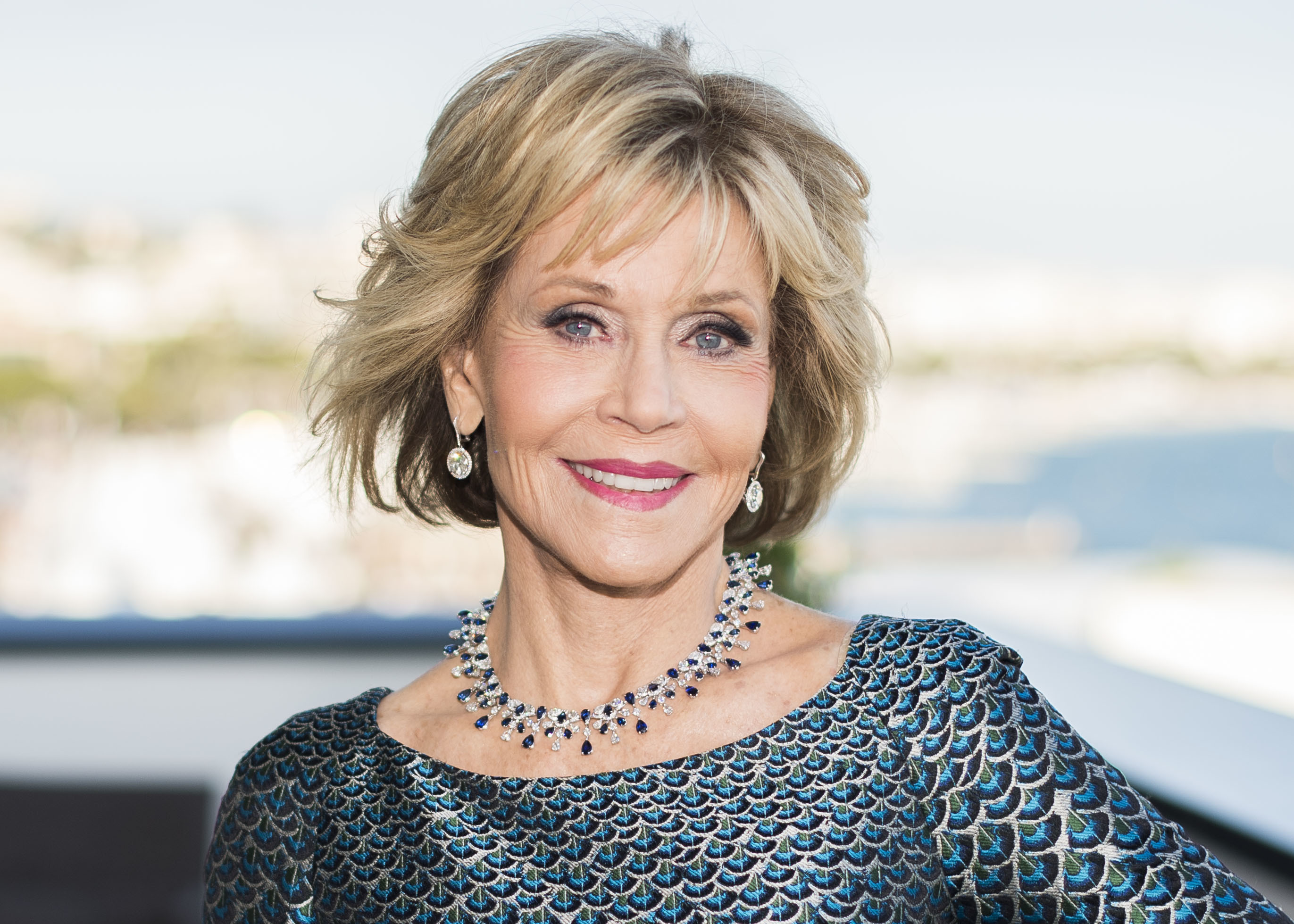 FILE - Actress Jane Fonda appears at the 71st international film festival in Cannes, southern France, on May 12, 2018. The Golden Globes will bestow the Cecil B. DeMille Award to Fonda during the 78th annual awards show next month. Photo: AP